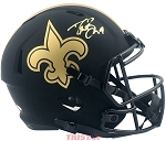 Drew Brees Autographed New Orleans Saints Eclipse Full Size Helmet