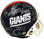 New York Giants SB XXI Champions Team Autographed Full Size Helmet