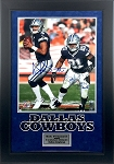 Dak Prescott & Ezekiel Elliott Autographed Dallas Cowboys 16x20 Photo Framed