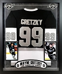 Wayne Gretzky Autographed Los Angeles Kings Jersey Framed