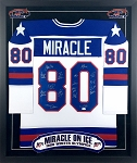 1980 USA Hockey Team Autographed 'Miracle' Jersey with Eruzione, Craig & More