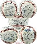 Baseball MVPs Autographed Official AL Baseball 13 Signatures - Mantle, Williams, DiMaggio & More