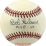Bob Gibson Autographed Official National League Baseball Inscribed MVP 68