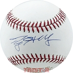 Roy Halladay Autographed Major League Baseball Engraved with Perfect Game Stats