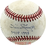 Keith Hernandez & Willie Stargell Autographed Official NL Baseball Inscribed MVP 79