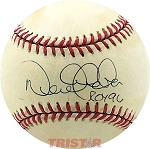 Derek Jeter Autographed Official AL Baseball Inscribed ROY 96