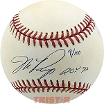 Mike Piazza Autographed Official National League Baseball Inscribed ROY 93