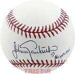 Johan Santana Autographed Major League Baseball Inscribed NL Cy 04 06