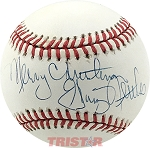 Craig Nettles Autographed Official NL Baseball Inscribed Merry Christmas