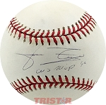 Jose Rijo Autographed Official National League Baseball Inscribed WS MVP 90