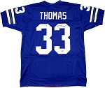Duane Thomas Autographed Dallas Cowboys Custom Jersey