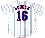 Doc Gooden Autographed New York Mets Replica Jersey Inscribed 84 ROY