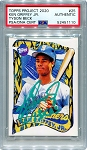 Ken Griffey Jr. Autographed Topps Project 2020 Card #25 Inscribed 13x AS - Green 1/1