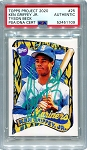 Ken Griffey Jr. Autographed Topps Project 2020 Card #25 Inscribed 24 - Green 1/1