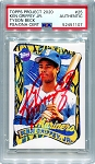 Ken Griffey Jr. Autographed Topps Project 2020 Card #25 Inscribed 24 - Red 1/1
