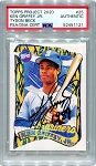 Ken Griffey Jr. Autographed Topps Project 2020 Card #25 Inscribed 1989 - Black 1/1