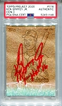 Ken Griffey Jr. Autographed Topps Project 2020 Card #116 Inscribed HOF 16 - Red 1/1