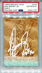 Ken Griffey Jr. Autographed Topps Project 2020 Card #116 Inscribed HOF 16 - White 1/1