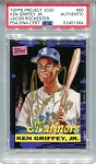Ken Griffey Jr. Autographed Topps Project 2020 Card #66 Inscribed 13x AS - Gold 1/1
