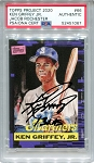 Ken Griffey Jr. Autographed Topps Project 2020 Card #66 Inscribed 13x AS - Black 1/1