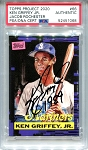Ken Griffey Jr. Autographed Topps Project 2020 Card #66 Inscribed 1989 - Black 1/1
