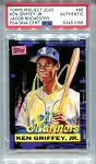 Ken Griffey Jr. Autographed Topps Project 2020 Card #66 Inscribed 1989 - Yellow 1/1