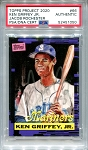 Ken Griffey Jr. Autographed Topps Project 2020 Card #66 Inscribed 1989 - Silver 1/1
