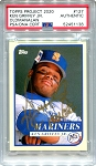 Ken Griffey Jr. Autographed Topps Project 2020 Card #127 Inscribed 10x GG - Gold 1/1