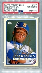 Ken Griffey Jr. Autographed Topps Project 2020 Card #127 Inscribed 13x AS - Gold 1/1