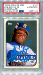 Ken Griffey Jr. Autographed Topps Project 2020 Card #127 Inscribed 13x AS - Blue 1/1