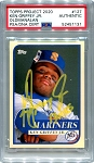 Ken Griffey Jr. Autographed Topps Project 2020 Card #127 Inscribed 13x AS - Yellow 1/1
