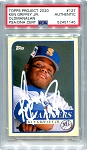 Ken Griffey Jr. Autographed Topps Project 2020 Card #127 Inscribed 1989 - White 1/1