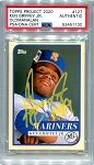 Ken Griffey Jr. Autographed Topps Project 2020 Card #127 Inscribed 1989 - Yellow 1/1