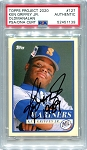 Ken Griffey Jr. Autographed Topps Project 2020 Card #127 Inscribed 1989 - Black 1/1