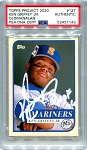 Ken Griffey Jr. Autographed Topps Project 2020 Card #127 Inscribed HOF 16 - White 1/1