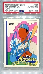 Ken Griffey Jr. Autographed Topps Project 2020 Card #201 Inscribed 13x AS - Blue 1/1
