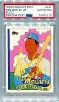 Ken Griffey Jr. Autographed Topps Project 2020 Card #201 Inscribed 13x AS - Yellow 1/1