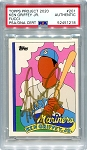 Ken Griffey Jr. Autographed Topps Project 2020 Card #201 Inscribed 13x AS - Gold 1/1