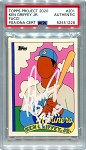 Ken Griffey Jr. Autographed Topps Project 2020 Card #201 Inscribed 13x AS - White 1/1