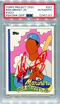 Ken Griffey Jr. Autographed Topps Project 2020 Card #201 Inscribed 24 - Red 1/1