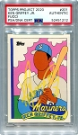 Ken Griffey Jr. Autographed Topps Project 2020 Card #201 Inscribed 24 - Yellow 1/1