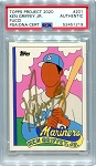 Ken Griffey Jr. Autographed Topps Project 2020 Card #201 Inscribed 24 - Gold 1/1