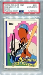 Ken Griffey Jr. Autographed Topps Project 2020 Card #201 Inscribed 24 - Black 1/1