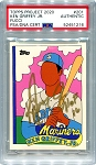 Ken Griffey Jr. Autographed Topps Project 2020 Card #201 Inscribed HOF 16 - Gold 1/1