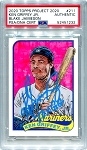 Ken Griffey Jr. Autographed Topps Project 2020 Card #211 Inscribed 10x GG - Blue 1/1