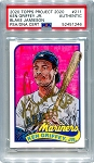 Ken Griffey Jr. Autographed Topps Project 2020 Card #211 Inscribed 10x GG - Gold 1/1