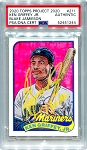 Ken Griffey Jr. Autographed Topps Project 2020 Card #211 Inscribed 13x AS - Yellow 1/1