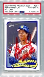 Ken Griffey Jr. Autographed Topps Project 2020 Card #257 Inscribed 10x GG - Red 1/1