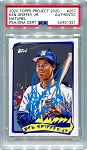 Ken Griffey Jr. Autographed Topps Project 2020 Card #257 Inscribed 10x GG - Blue 1/1