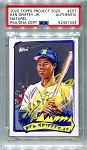 Ken Griffey Jr. Autographed Topps Project 2020 Card #257 Inscribed 24 - Yellow 1/1